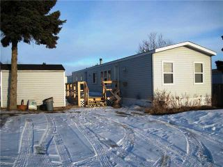 "Photo 1: 22 8420 ALASKA Road in Fort St. John: Fort St. John - City SE Manufactured Home for sale in ""PEACE COUNTRY MOBILE HOME PARK"" (Fort St. John (Zone 60))  : MLS®# N225043"