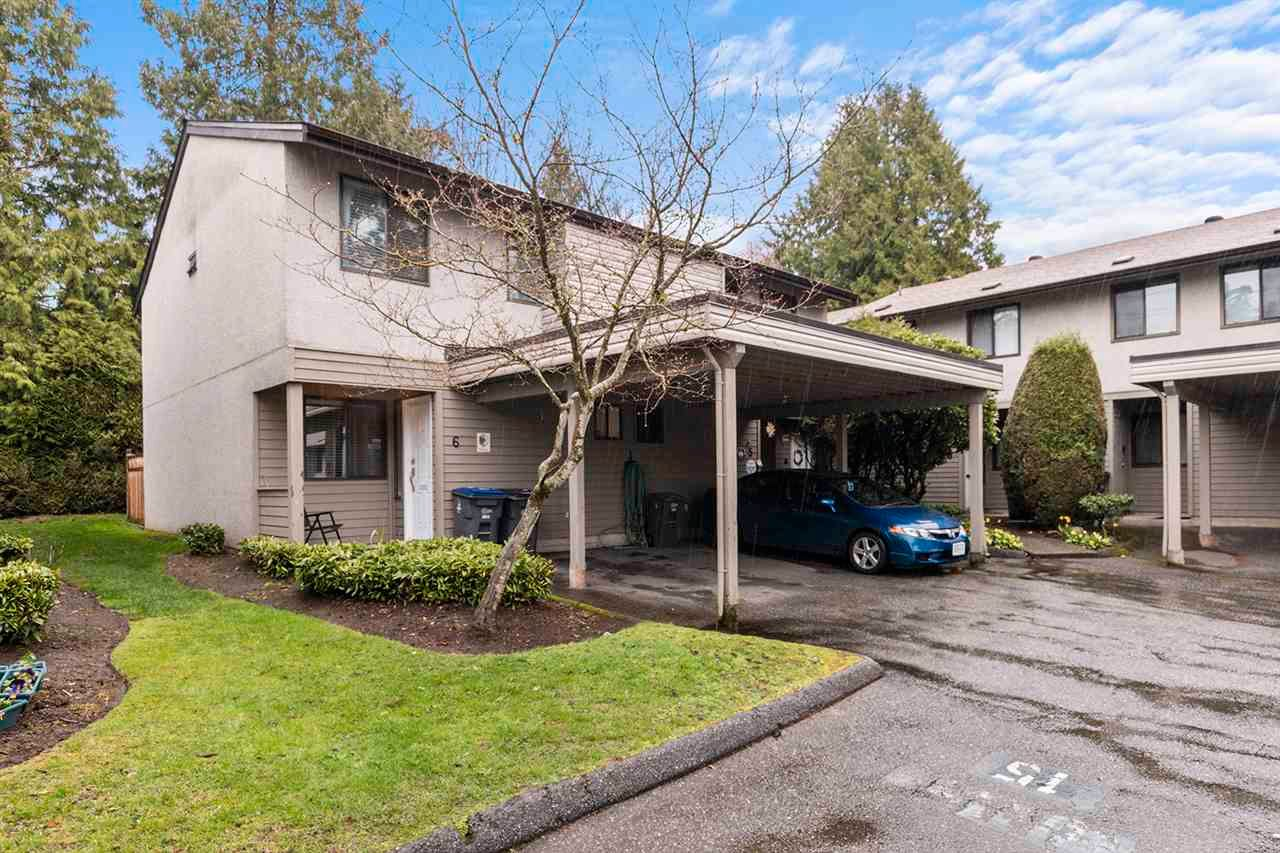 "Main Photo: 6 9955 140 Street in Surrey: Whalley Townhouse for sale in ""Whalley"" (North Surrey)  : MLS®# R2567073"
