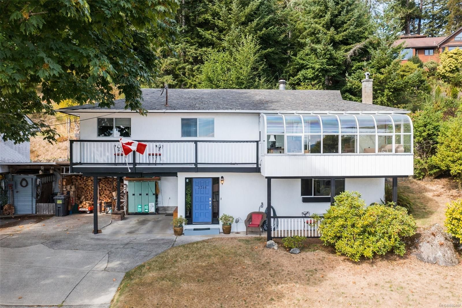 Main Photo: 2348 N French Rd in : Sk Broomhill House for sale (Sooke)  : MLS®# 886487