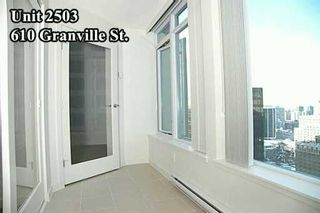 """Photo 7: 610 GRANVILLE Street in Vancouver: Downtown VW Condo for sale in """"THE HUDSON"""" (Vancouver West)  : MLS®# V622586"""
