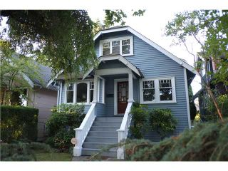 Photo 1: 3212 W 13TH Avenue in Vancouver: Kitsilano House  (Vancouver West)  : MLS®# V1084036