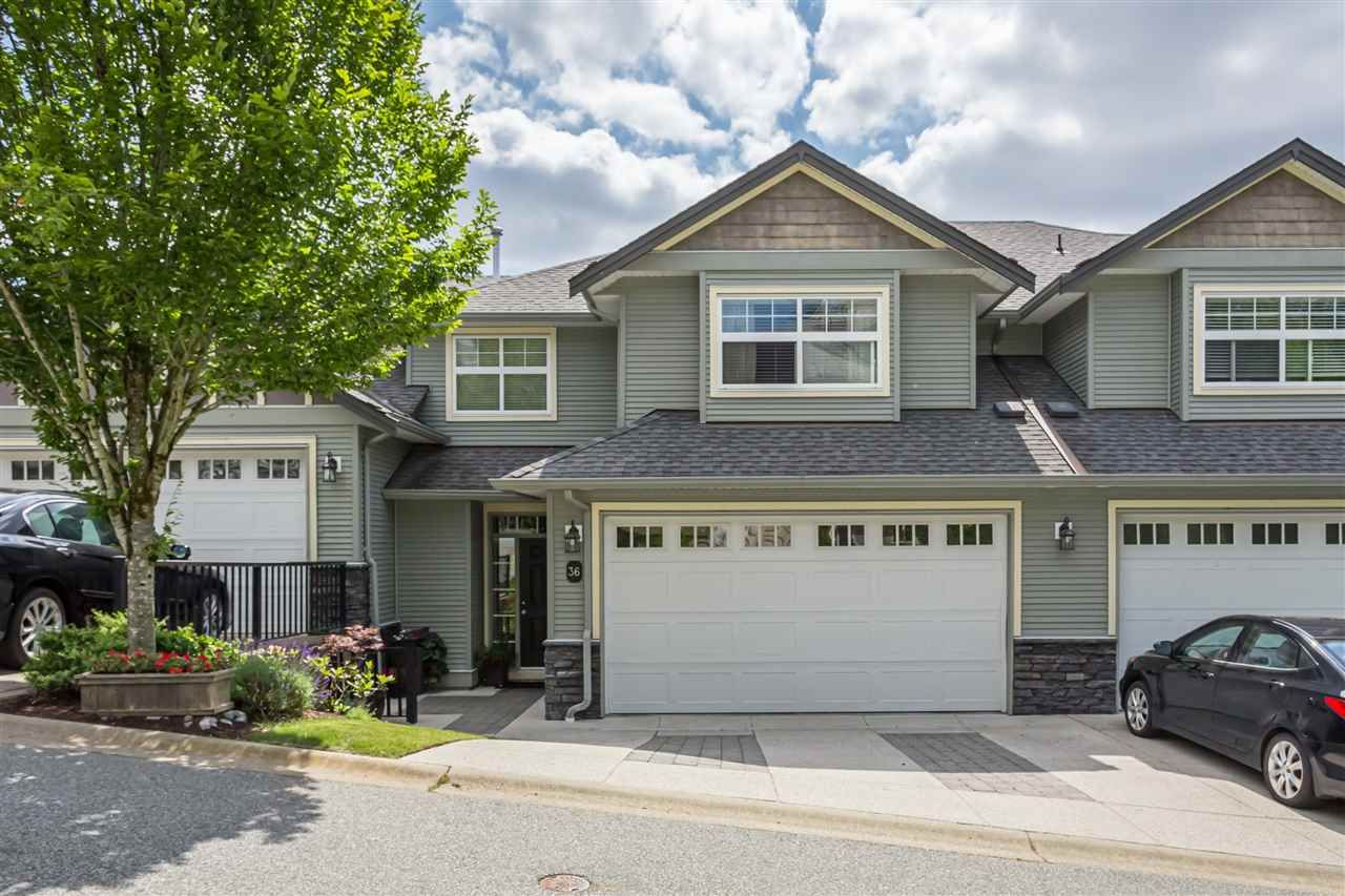 """Main Photo: 36 36260 MCKEE Road in Abbotsford: Abbotsford East Townhouse for sale in """"King's Gate"""" : MLS®# R2384243"""