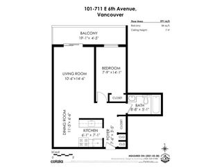"""Photo 27: 101 711 E 6TH Avenue in Vancouver: Mount Pleasant VE Condo for sale in """"THE PICASSO"""" (Vancouver East)  : MLS®# R2587341"""