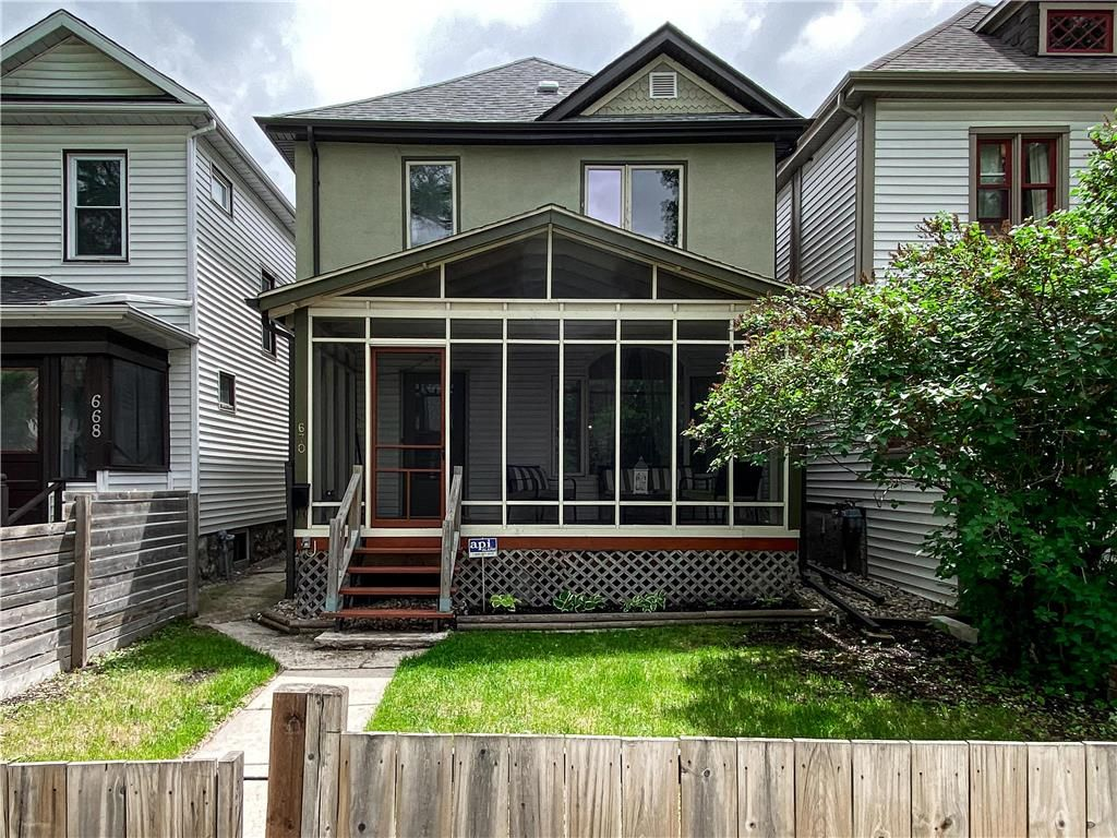 Main Photo: 670 Mulvey Avenue in Winnipeg: Crescentwood Residential for sale (1B)  : MLS®# 202107120