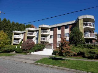 """Photo 1: 106 327 NINTH Street in New Westminster: Uptown NW Condo for sale in """"KENNEDY MANOR"""" : MLS®# R2579845"""
