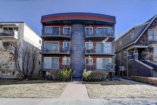 Photo 1: 306 1730 7 Street SW in Calgary: Lower Mount Royal Apartment for sale : MLS®# A1085672
