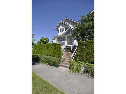 Main Photo: 9 4711 BLAIR Drive in Richmond: West Cambie Home for sale ()  : MLS®# V897756