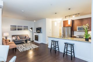 Photo 1: 109 101 MORRISSEY ROAD in Port Moody: Port Moody Centre Condo for sale : MLS®# R2138128
