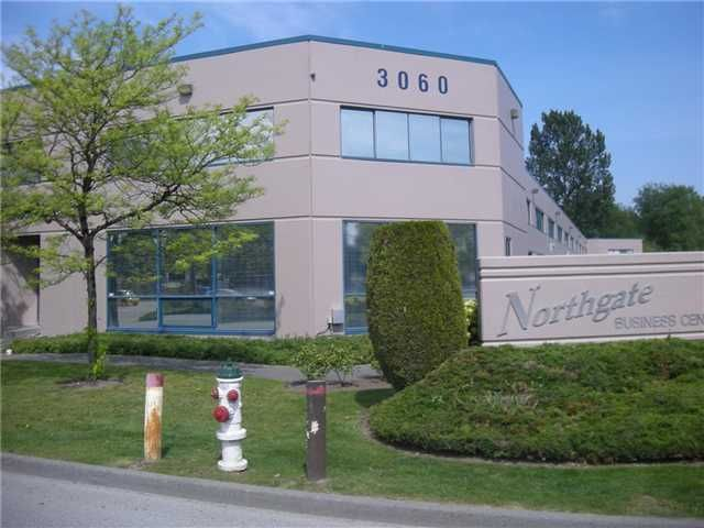 Main Photo: 103 3060 NORLAND Avenue in BURNABY: Central BN Commercial for sale (Burnaby North)  : MLS®# V4035701