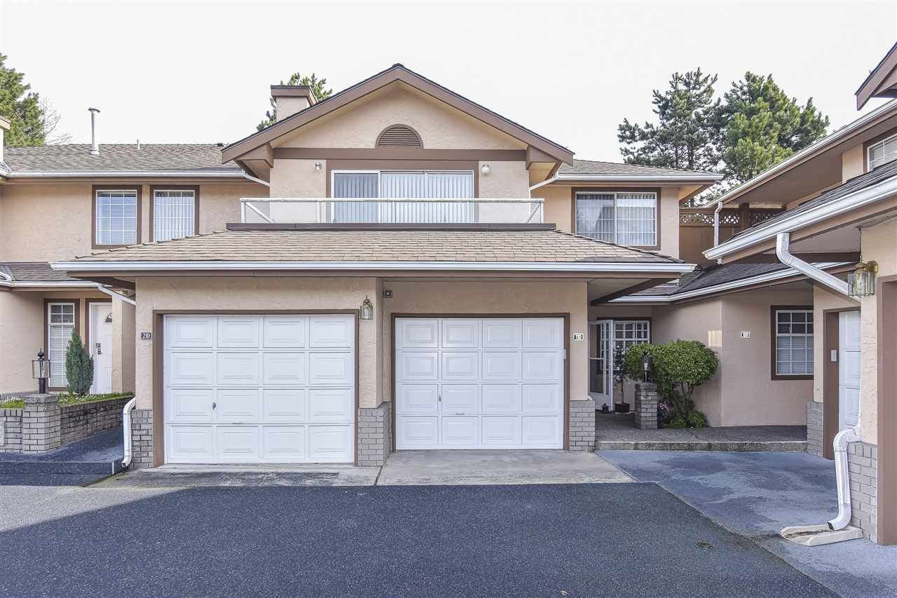 "Main Photo: 110 14861 98 Avenue in Surrey: Guildford Townhouse for sale in ""The Mansions"" (North Surrey)  : MLS®# R2438007"