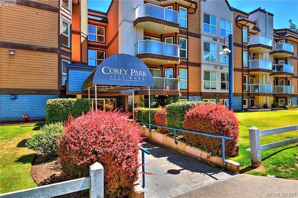 Main Photo: 106 2529 Wark St in VICTORIA: Vi Hillside Condo for sale (Victoria)  : MLS®# 766540