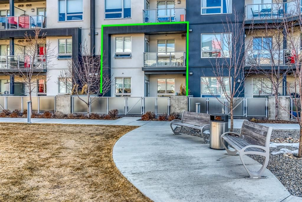 Direct access to your unit from outside and steps to 1 of 2 parking stalls (1 above ground and 1 underground)