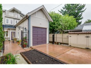 Photo 20: 1538 E 10TH Avenue in Vancouver: Grandview VE 1/2 Duplex for sale (Vancouver East)  : MLS®# V1092394