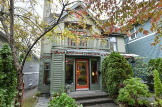 Photo 1: 2052 E 5TH Avenue in Vancouver: Grandview Woodland 1/2 Duplex for sale (Vancouver East)  : MLS®# R2625762