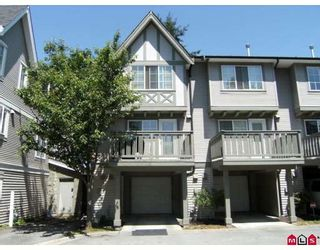 "Photo 1: 5 12778 66TH Avenue in Surrey: West Newton Townhouse for sale in ""HATHAWAY VILLAGE"" : MLS®# F2831686"