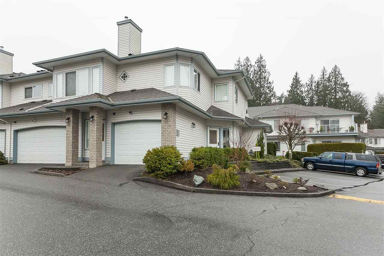 """Main Photo: 12 21579 88B Avenue in Langley: Walnut Grove Townhouse for sale in """"Carriage Park"""" : MLS®# R2439015"""