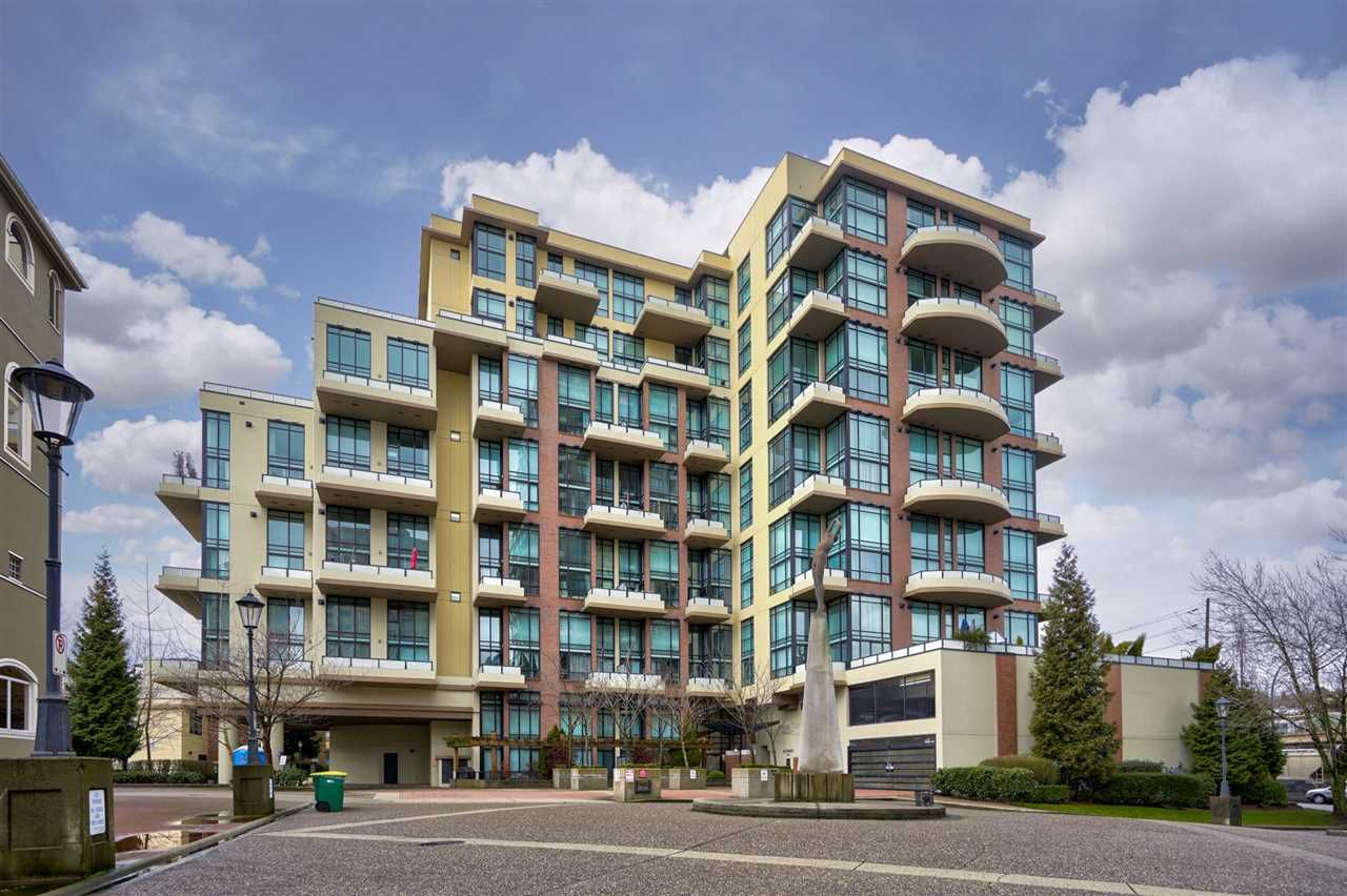 """Main Photo: 111 10 RENAISSANCE Square in New Westminster: Quay Condo for sale in """"MURANO LOFTS"""" : MLS®# R2431581"""