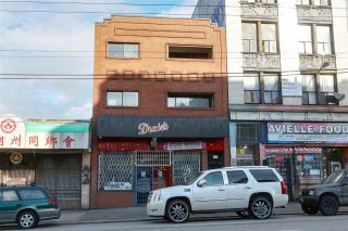 """Photo 1: 337-339 E HASTINGS Street in Vancouver: Strathcona Land Commercial for sale in """"Mixed Use - Restaurant & 5 uni"""" (Vancouver East)  : MLS®# C8036810"""