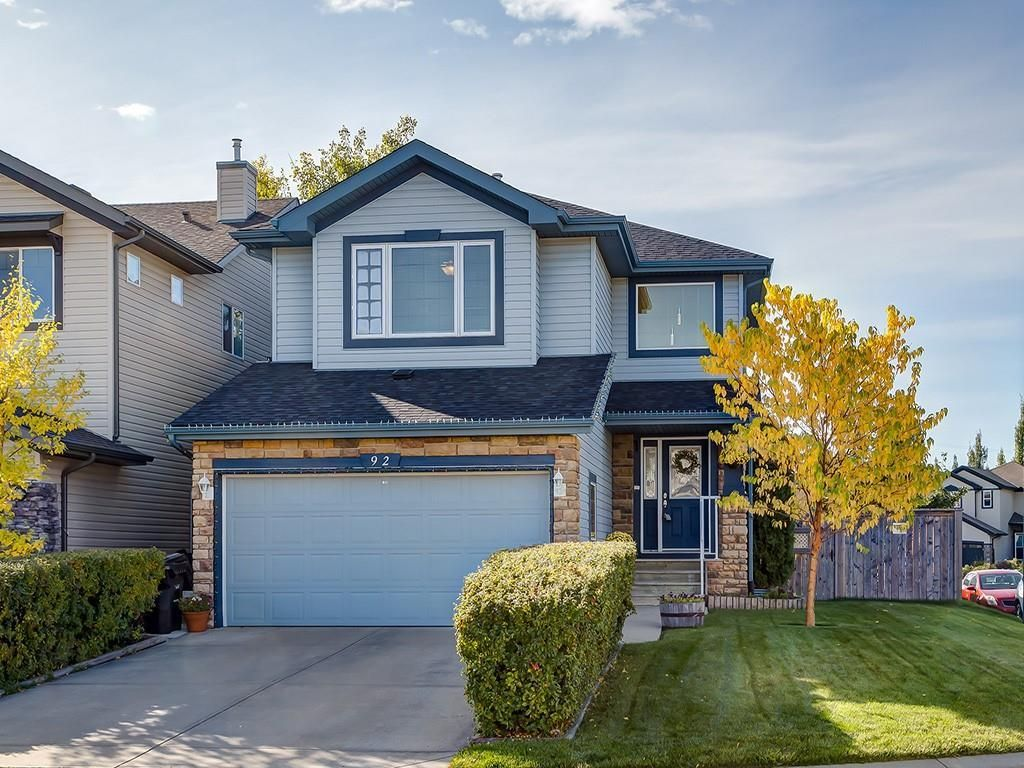 Main Photo: 92 WENTWORTH Circle SW in Calgary: West Springs Detached for sale : MLS®# C4270253