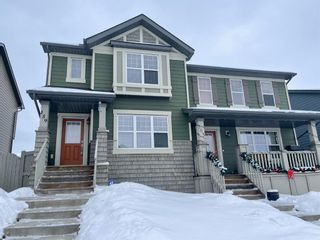 Main Photo: 159 Panamount Way NW in Calgary: Panorama Hills Semi Detached for sale : MLS®# A1071028