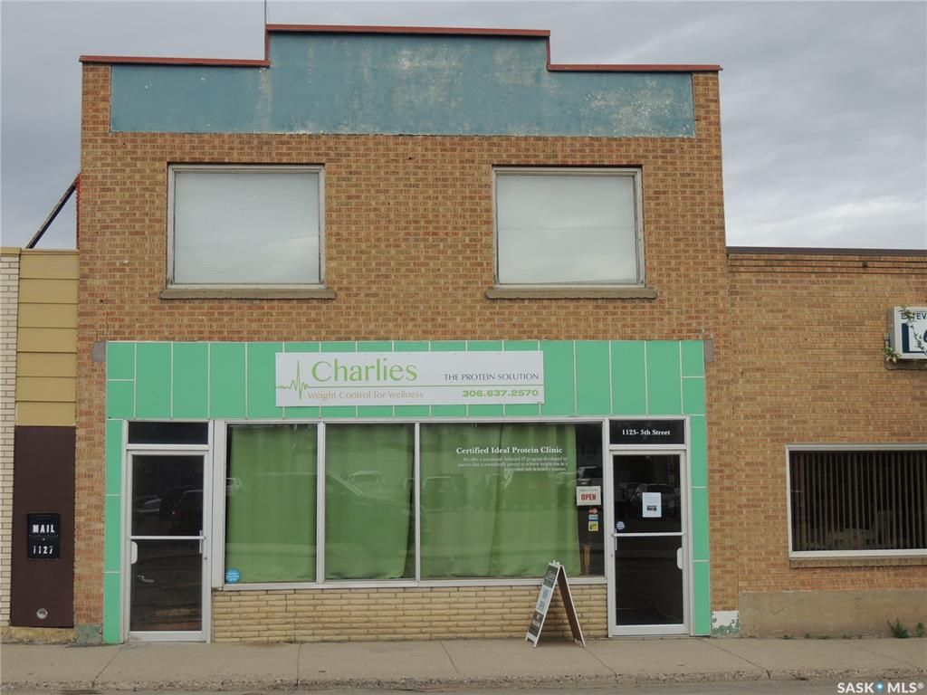Main Photo: A 1125 5th Street in Estevan: Commercial for lease : MLS®# SK809603