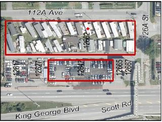 Main Photo: 12647 King George Boulevard in Surrey: Retail for sale