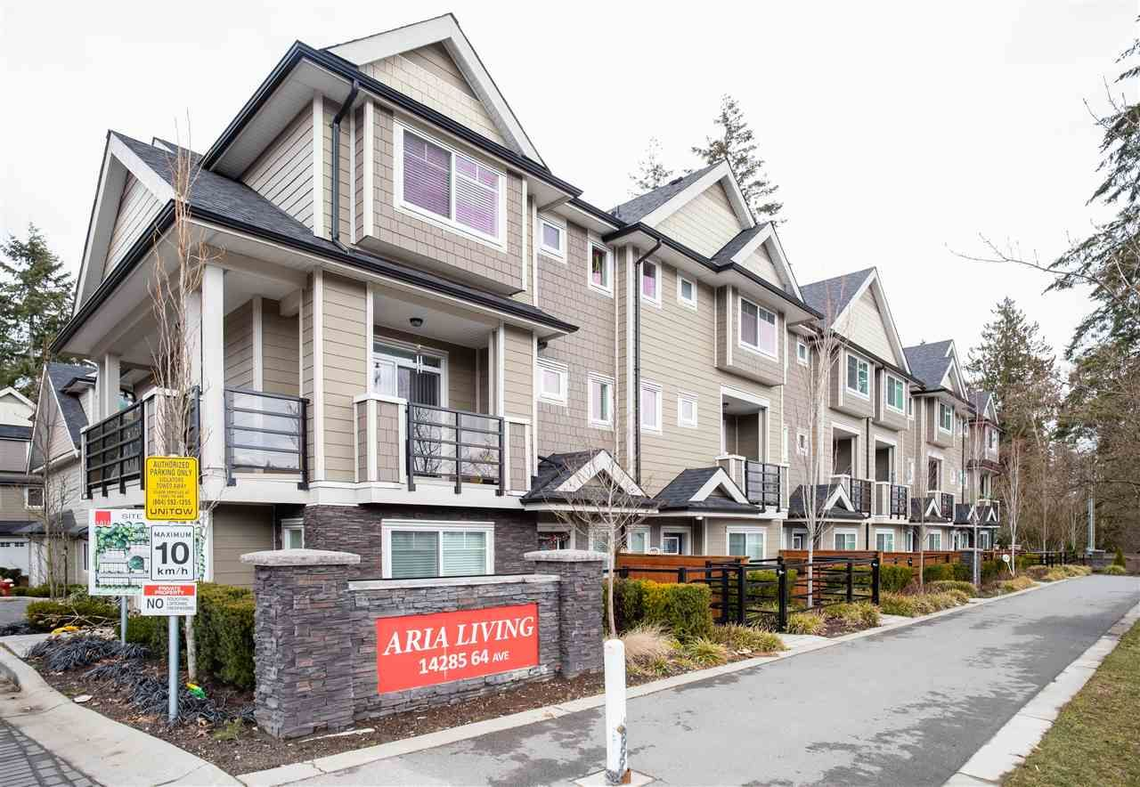 Main Photo: 31 14285 64 Avenue in Surrey: East Newton Townhouse for sale : MLS®# R2348492
