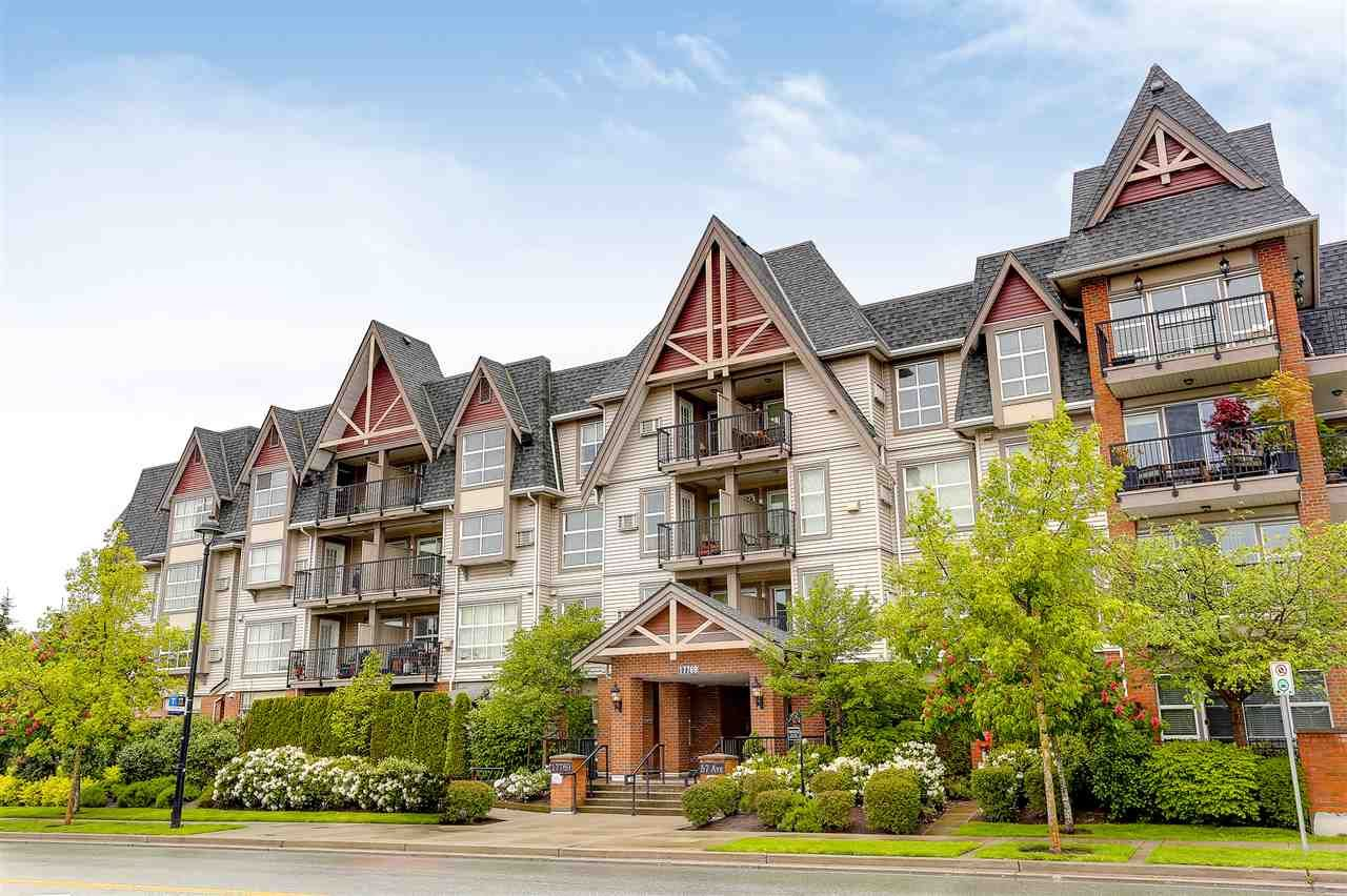 "Main Photo: 216 17769 57 Avenue in Surrey: Cloverdale BC Condo for sale in ""Clover Down Estates"" (Cloverdale)  : MLS®# R2164588"