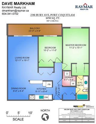 Photo 22: 305 2381 BURY Avenue in Port Coquitlam: Central Pt Coquitlam Condo for sale : MLS®# R2617406
