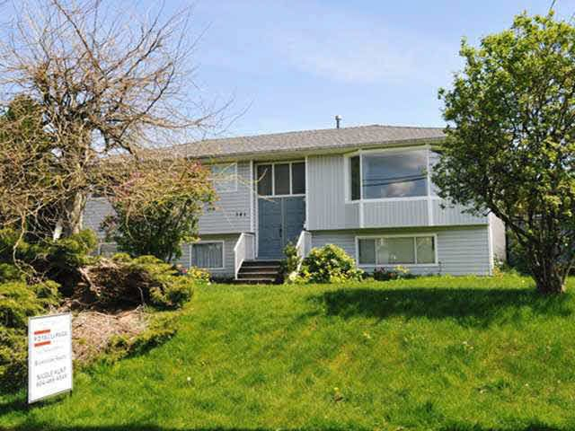 Main Photo: 341 FINNIGAN STREET in : Central Coquitlam House for sale : MLS®# V1004680