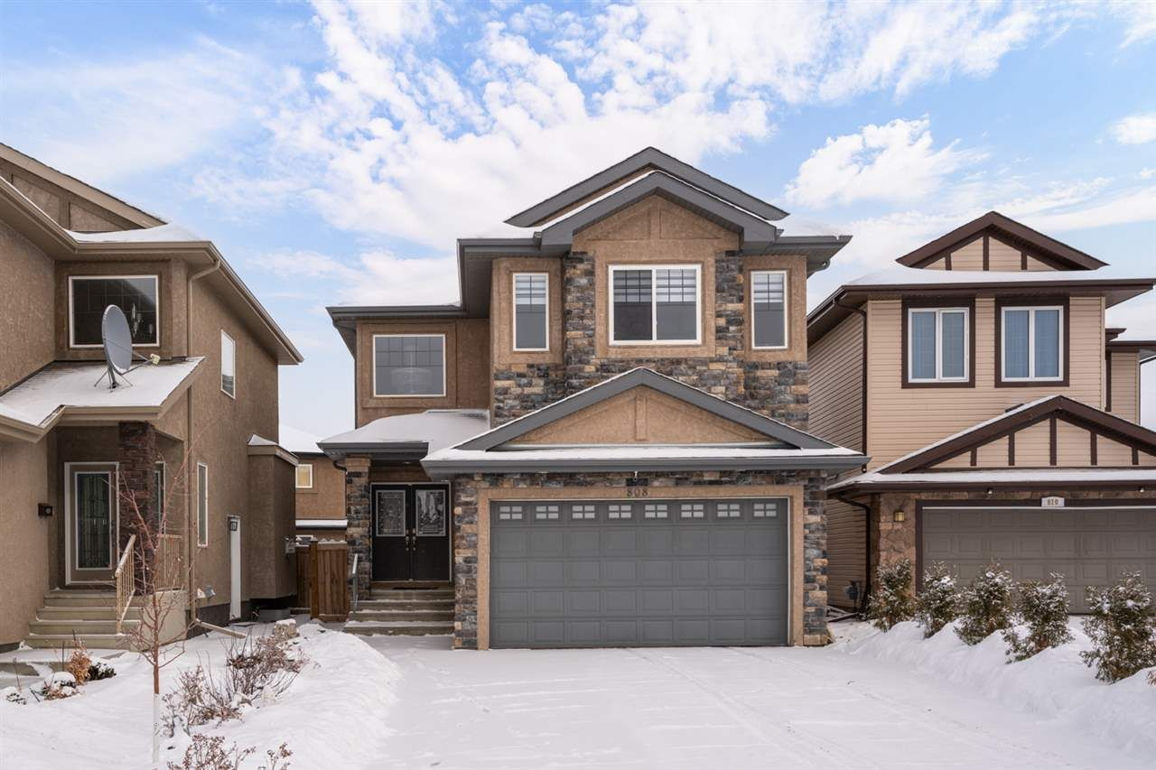 Main Photo: 808 ALBANY Cove in Edmonton: Zone 27 House for sale : MLS®# E4227367