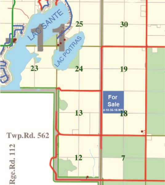 Main Photo: 160 Acres NW18-56-10-W4th: Rural St. Paul County Rural Land/Vacant Lot for sale : MLS®# E4236442