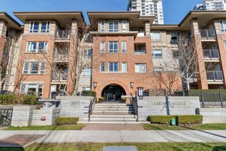 """Photo 1: 203 3097 LINCOLN Avenue in Coquitlam: New Horizons Condo for sale in """"LARKIN HOUSE"""" : MLS®# R2439303"""