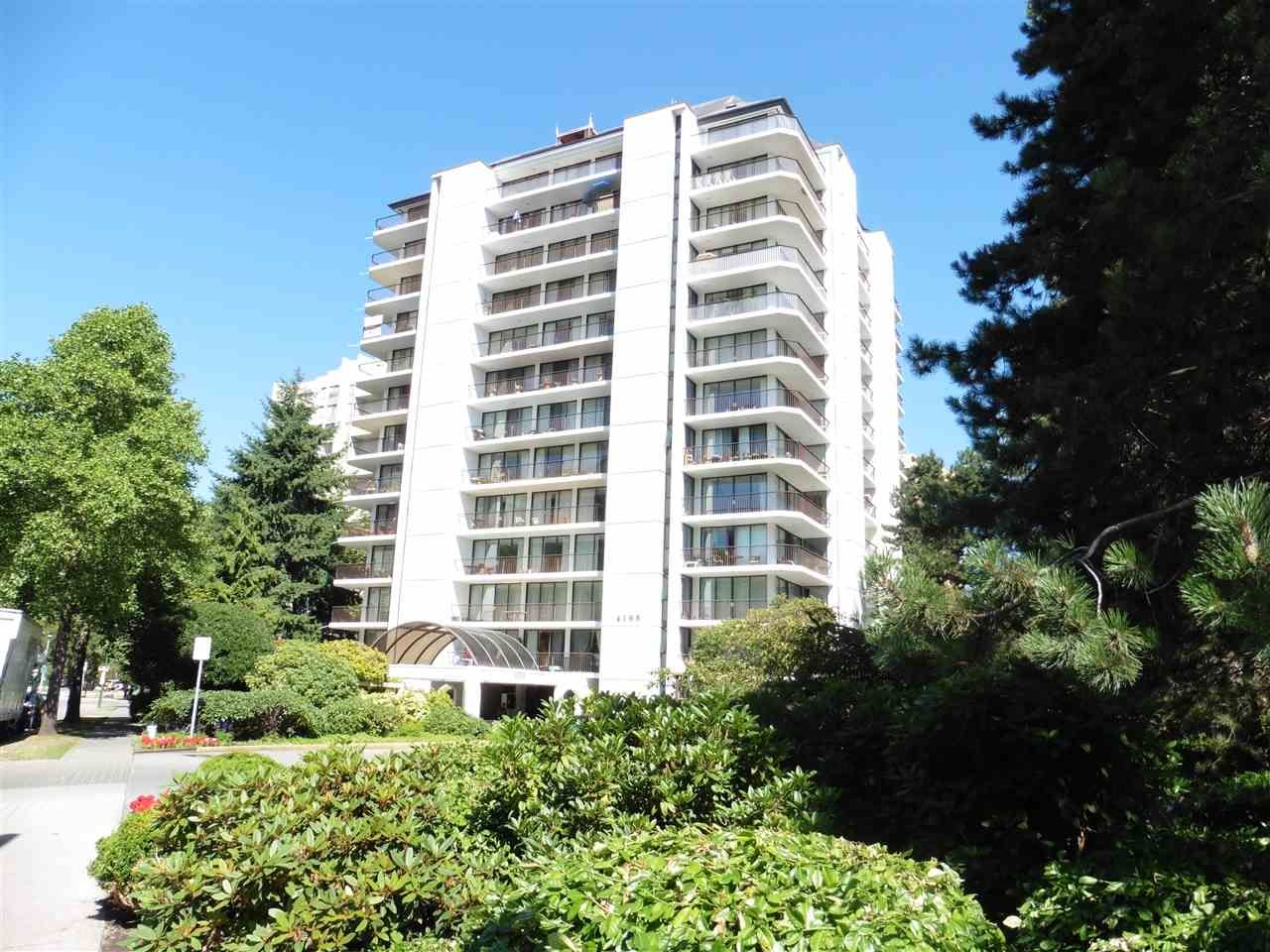 """Main Photo: 708 4165 MAYWOOD Street in Burnaby: Metrotown Condo for sale in """"PLACE ON THE PARK"""" (Burnaby South)  : MLS®# R2193789"""