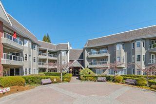 """Photo 1: 308 2020 CEDAR VILLAGE Crescent in North Vancouver: Westlynn Condo for sale in """"Kirkstone Gardens"""" : MLS®# R2450651"""