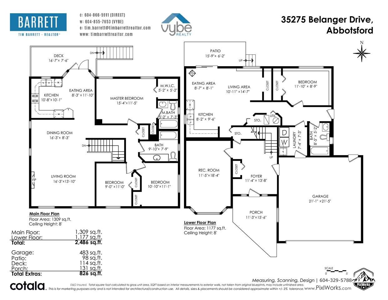 Photo 35: Photos: 35275 BELANGER Drive in Abbotsford: Abbotsford East House for sale : MLS®# R2558993