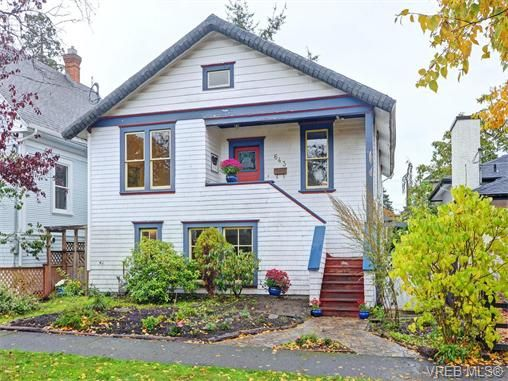 Main Photo: 643 Cornwall St in VICTORIA: Vi Fairfield West House for sale (Victoria)  : MLS®# 744737