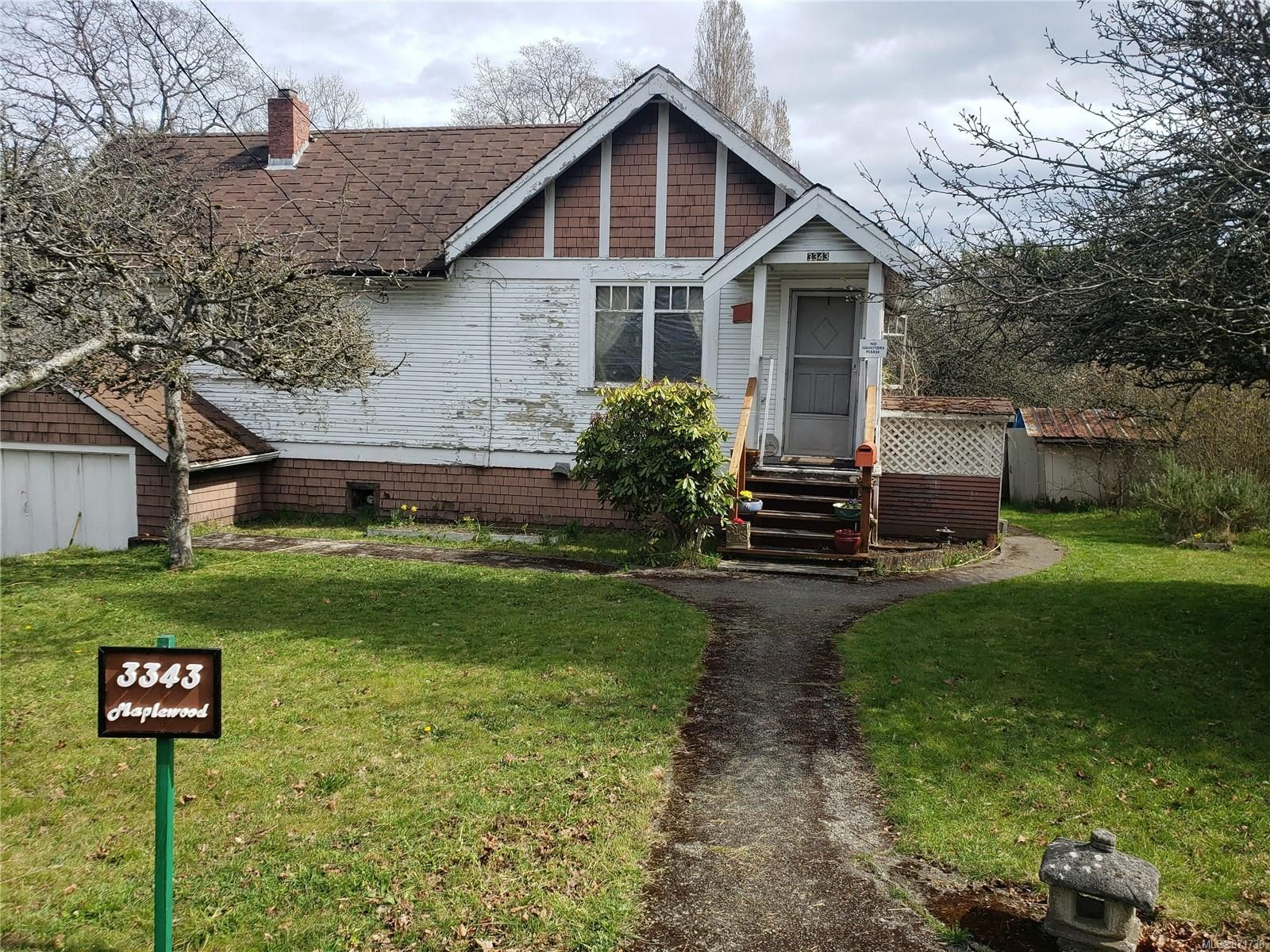 Main Photo: 3343 Maplewood Rd in : SE Cedar Hill House for sale (Saanich East)  : MLS®# 871738