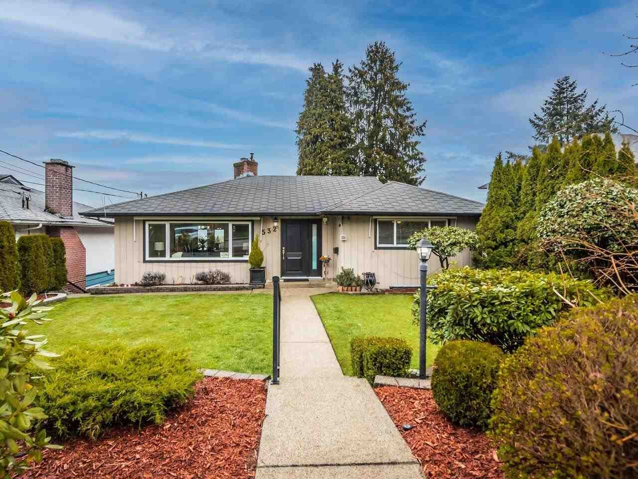 Main Photo: 532 AMESS Street in New Westminster: The Heights NW House for sale : MLS®# R2556517