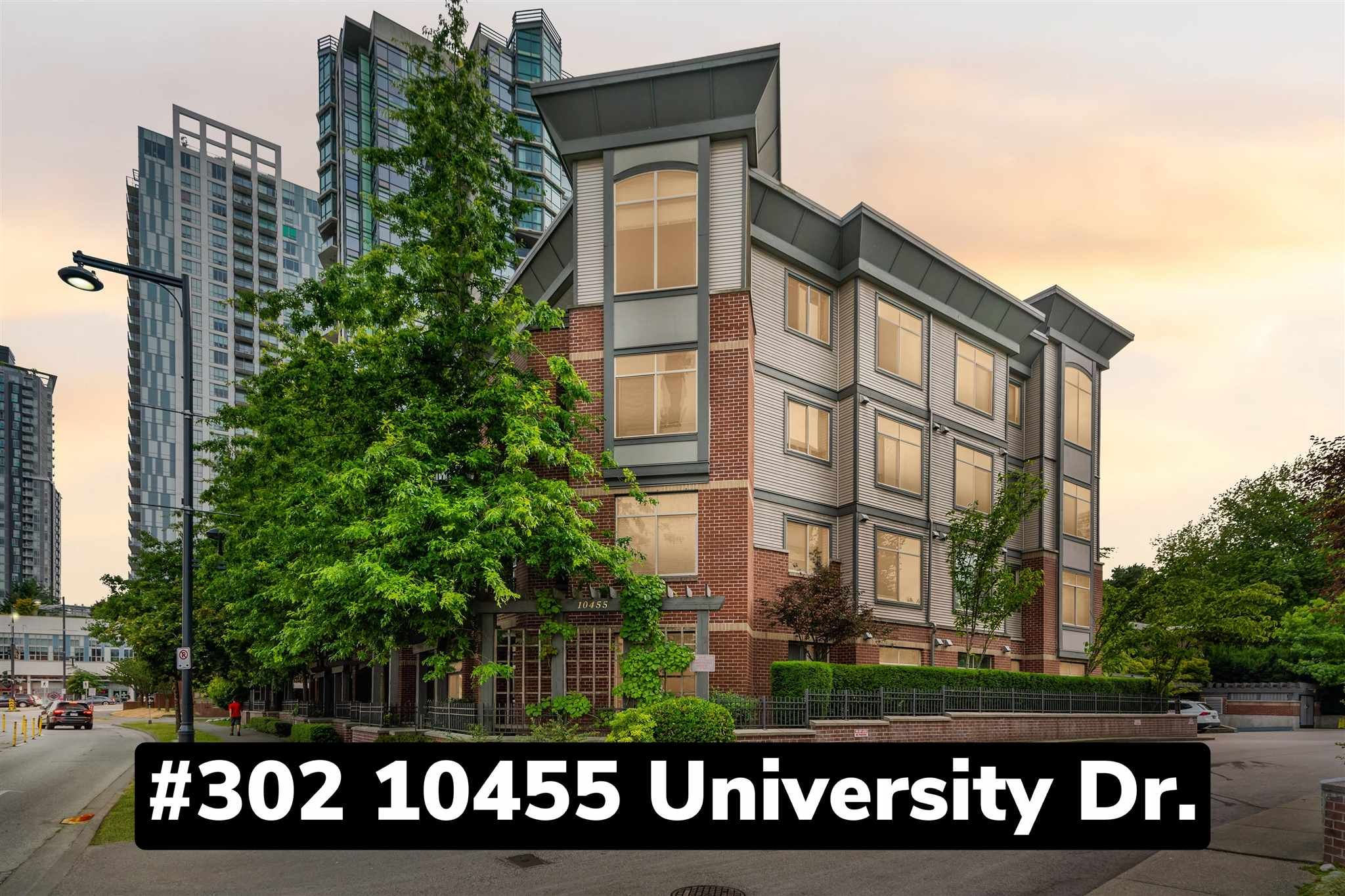 """Main Photo: 302 10455 UNIVERSITY Drive in Surrey: Whalley Condo for sale in """"d'Cor"""" (North Surrey)  : MLS®# R2601458"""