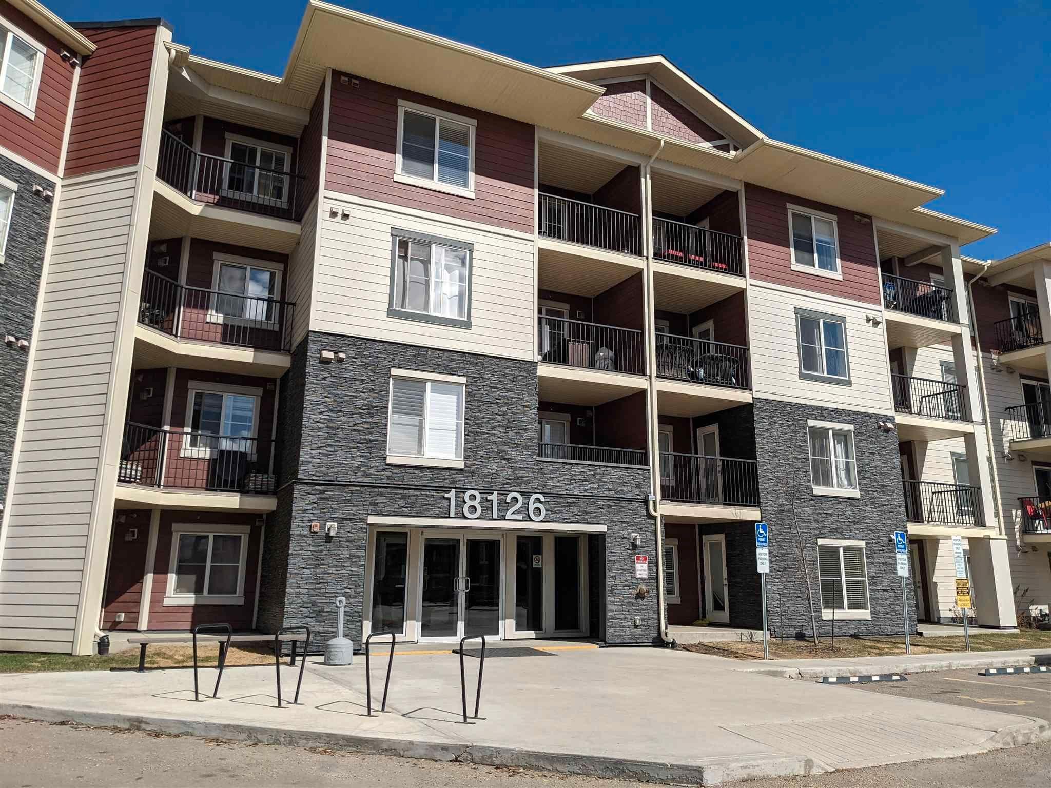 Main Photo: 112 18126 77 Street in Edmonton: Zone 28 Condo for sale : MLS®# E4254659