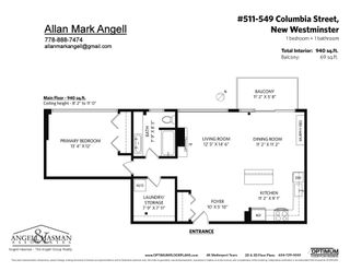 """Photo 24: 511 549 COLUMBIA Street in New Westminster: Downtown NW Condo for sale in """"C2C Lofts"""" : MLS®# R2601275"""