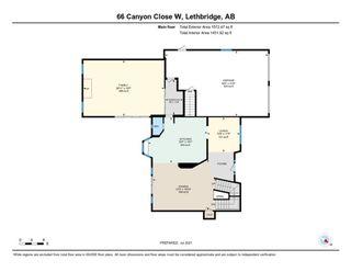 Photo 48: For Sale: 66 Canyon Close W, Lethbridge, T1K 6W5 - A1149101