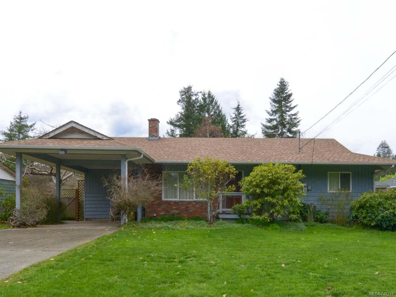 Main Photo: 353 Pritchard Rd in COMOX: CV Comox (Town of) House for sale (Comox Valley)  : MLS®# 747217