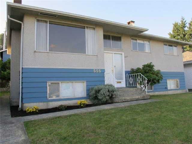 Main Photo: 555 GARFIELD Street in New Westminster: The Heights NW House for sale : MLS®# V976376