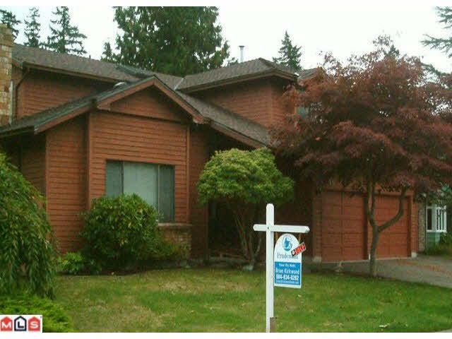 Main Photo: 1796 SOUTHMERE CRESCENT in : Sunnyside Park Surrey House for sale : MLS®# F1124609