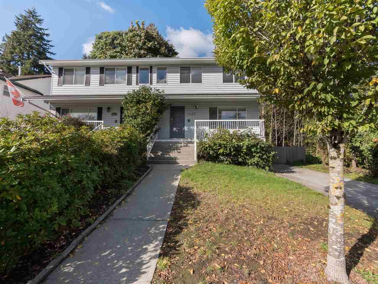 Main Photo: 1263 ROCHESTER Avenue in Coquitlam: Central Coquitlam 1/2 Duplex for sale : MLS®# R2310208