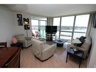 """Photo 1: 1209 14 BEGBIE Street in New Westminster: Quay Condo for sale in """"Inter Urban"""" : MLS®# V1070124"""
