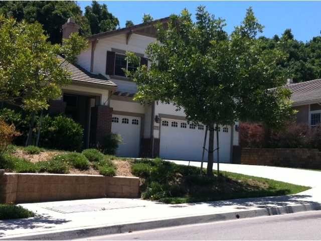 Main Photo: EAST ESCONDIDO House for sale : 3 bedrooms : 273 Oak Valley in Escondido