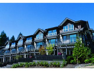 "Photo 1: 121 1480 SOUTHVIEW Street in Coquitlam: Burke Mountain Townhouse for sale in ""CEDAR CREEK"" : MLS®# V1011511"
